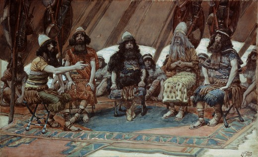 Stock Photo: 999-26 The Kings of the Five Great Cities