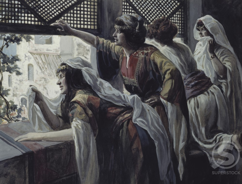 Stock Photo: 999-261 Michael Despises David
