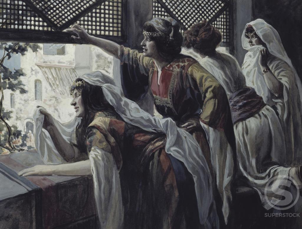 Stock Photo: 999-261 Michael Despises David James Tissot (1836-1902/French) Jewish Museum, New York, USA