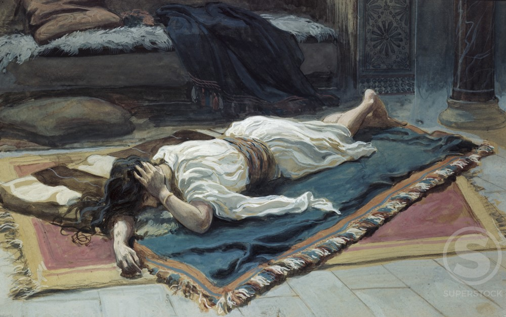 Stock Photo: 999-264 Bathsheba Mourns her Husband
