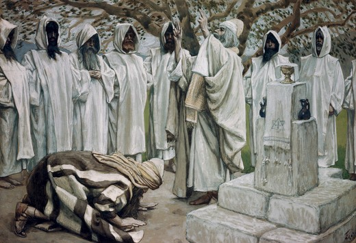 Stock Photo: 999-27 The Offerings of Melchizedek