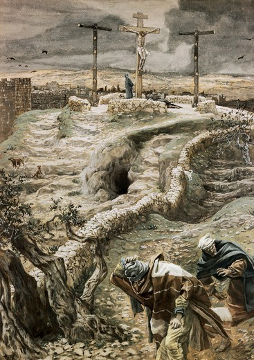 Stock Photo: 999-317 Jesus Alone on the Cross
