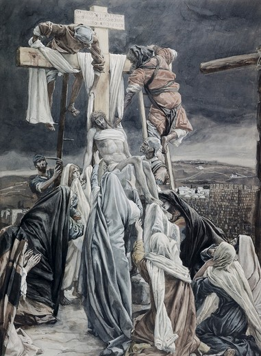 Stock Photo: 999-320 Descent from the Cross