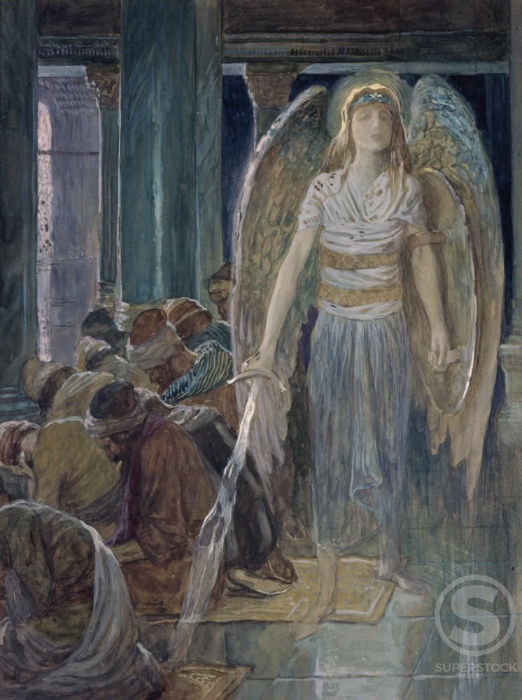 Stock Photo: 999-334 The Guardian Angel