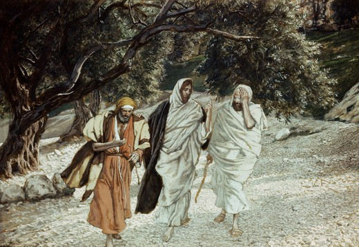 Stock Photo: 999-338 The Disciples on the Road to Emmaus