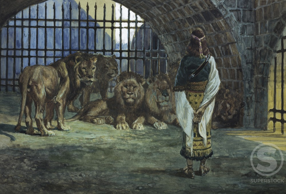 Stock Photo: 999-361 Daniel in the Lions Den