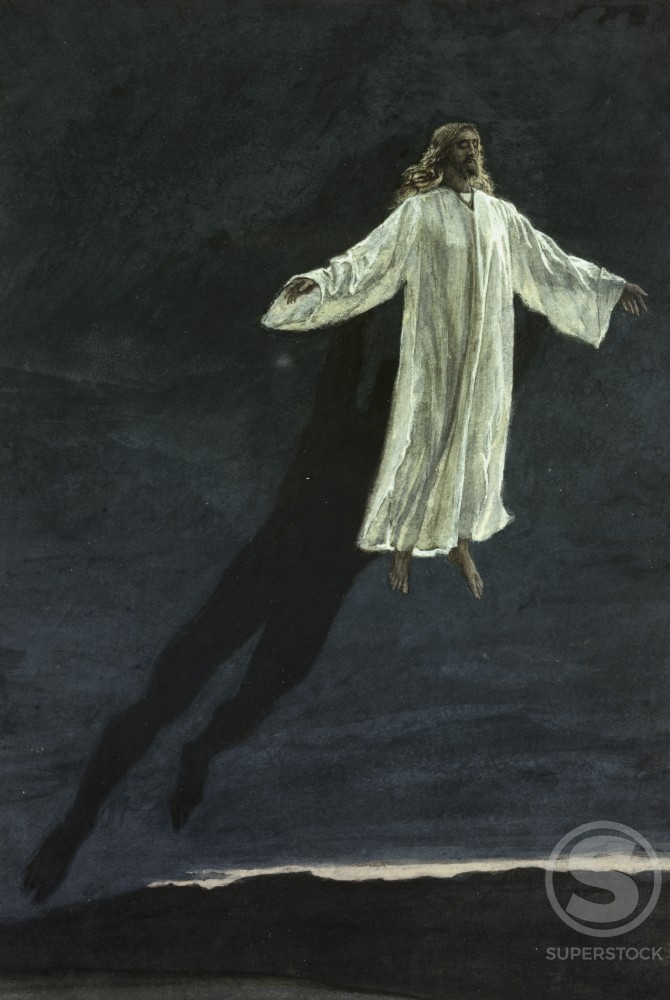 Jesus Taken Up Onto A High Mountain
