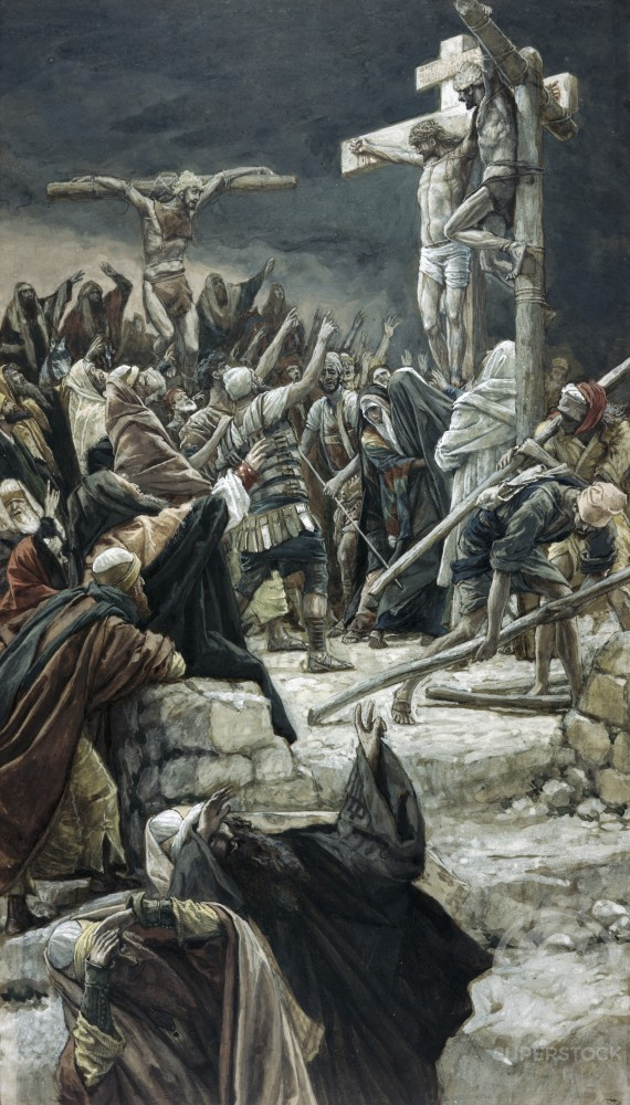 Stock Photo: 999-377 Pardoning of the Penitent Thief