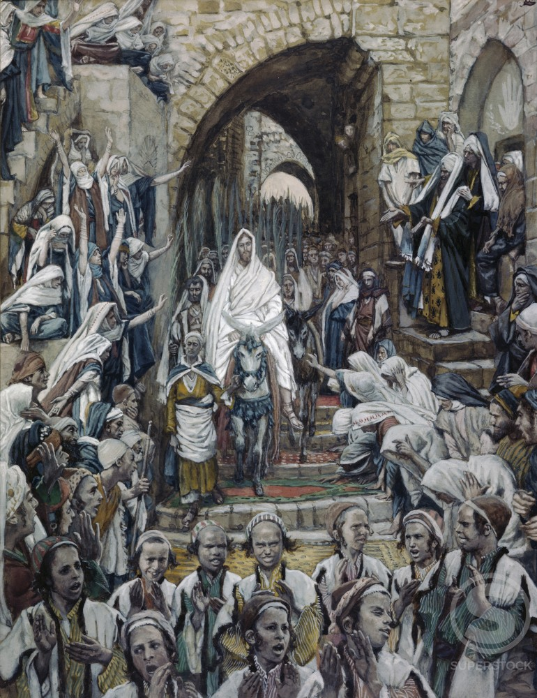 Procession in the Streets of Jerusalem