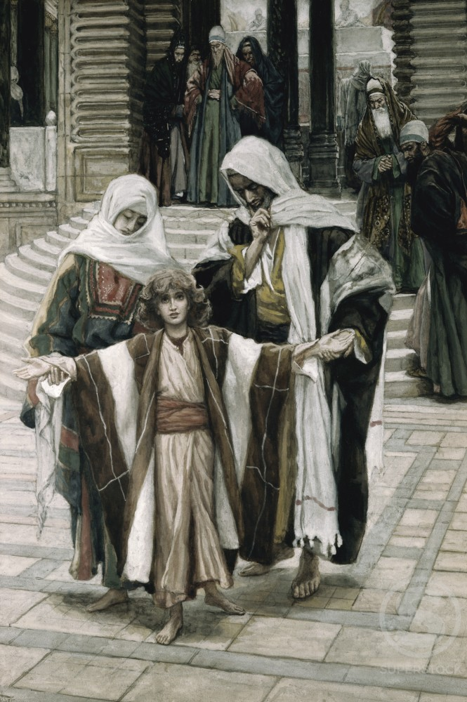 Stock Photo: 999-388 Jesus Found in the Temple