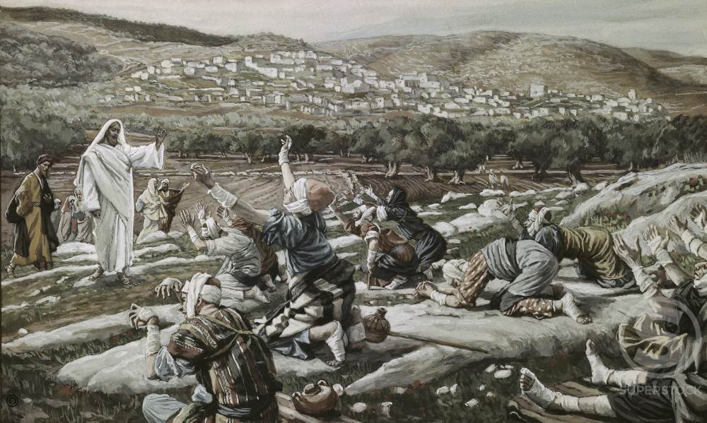 Stock Photo: 999-397 Healing of the Ten Lepers