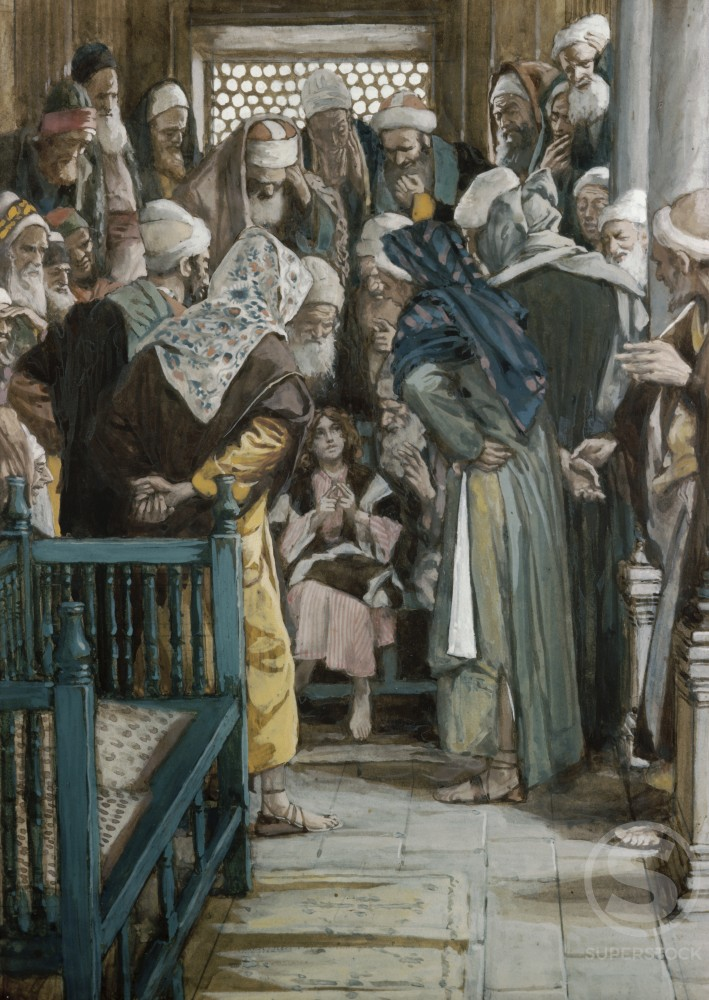 Jesus Sitting in the Midst of the Doctors