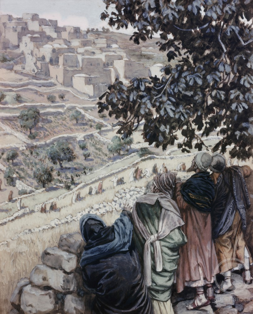 Stock Photo: 999-407 The Disciples Pluck Corn on the Sabbath