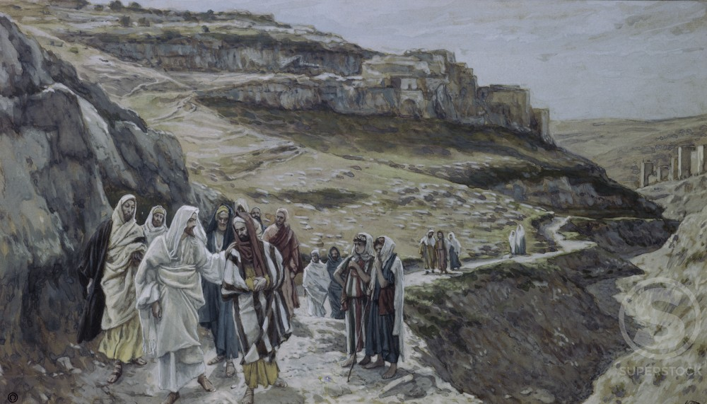Christ Discoursing with his Disciples 