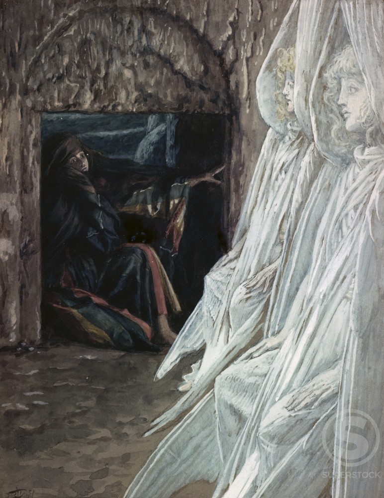 Stock Photo: 999-430 Mary Magdalene in the Tomb 
