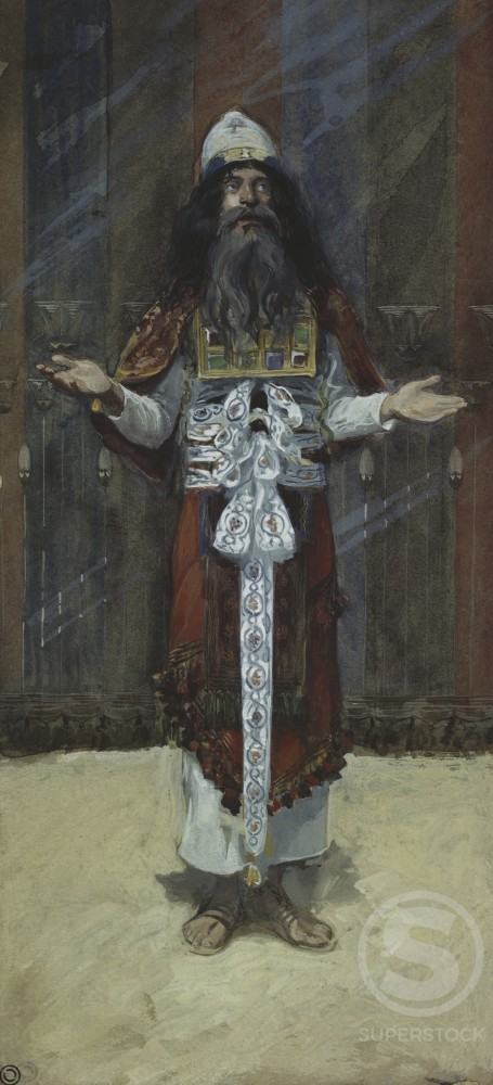 Stock Photo: 999-434 The Costume of the High Priest