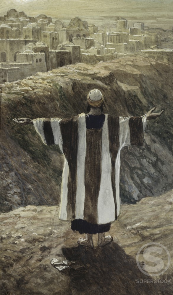 Stock Photo: 999-442 I Will Worship toward Thy Temple