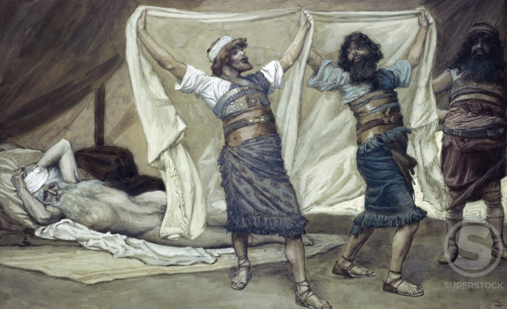 Noah's Drunkenness 