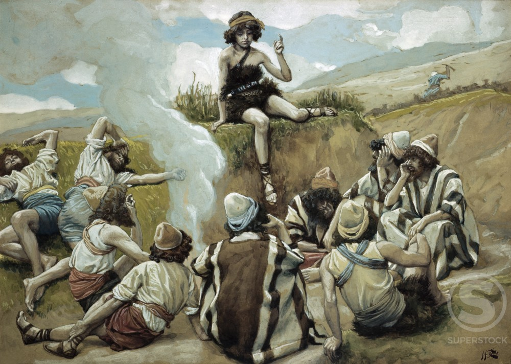 Joseph Reveals his Dream to his Brethren 