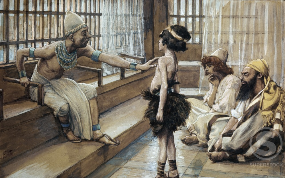 Stock Photo: 999-465 Joseph Sold into Egypt 
