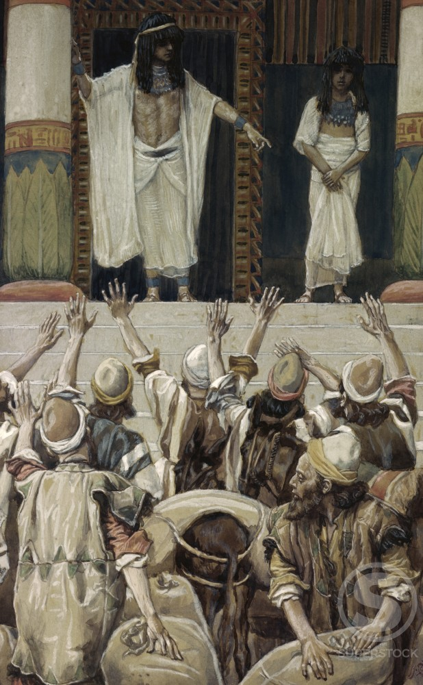 Joseph and Benjamin 