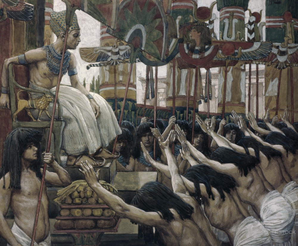 Joseph Dwelleth in Egypt 
