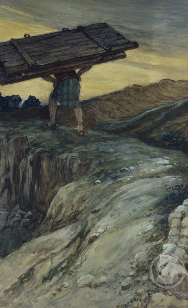Stock Photo: 999-498 Samson and the Gates of Gaza 
