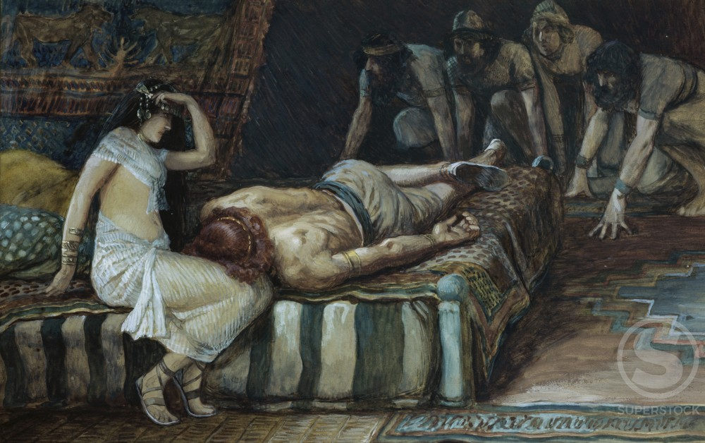 Stock Photo: 999-500 Samson is Made Prisoner