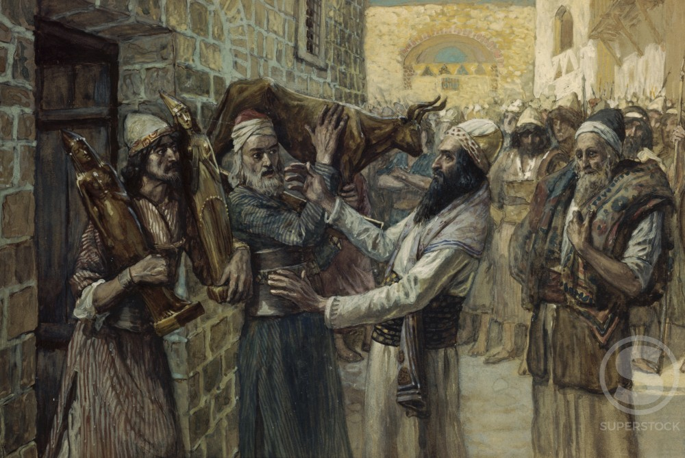 Stock Photo: 999-501 The Idols Are Brought Out