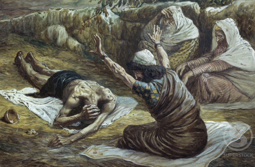 Job Lying in a Heap of Refuse 