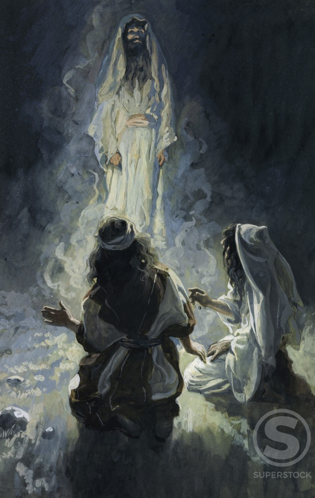 Stock Photo: 999-514 Saul and the Witch of Endor 