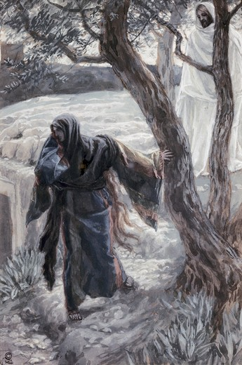 Stock Photo: 999-522 Christ Appears to Mary Magdalene