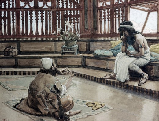 Stock Photo: 999-69 Joseph Converses With Judah, His Brother