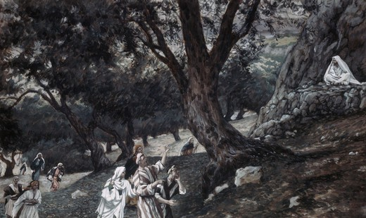 Stock Photo: 999-80 Jesus Went Out to a Desert Place