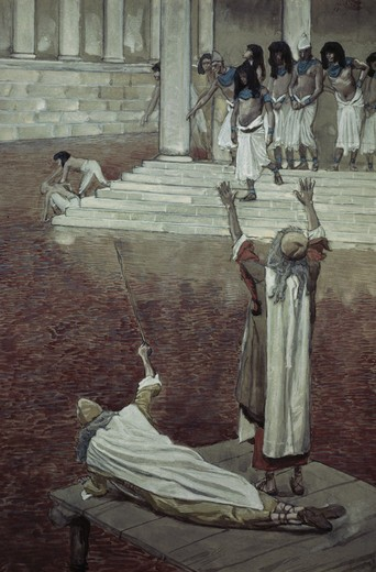 Stock Photo: 999-91 Water is Changed to Blood