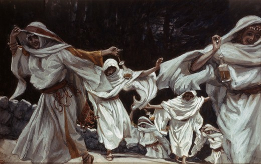 Stock Photo: 999-9180 The Foolish Virgins