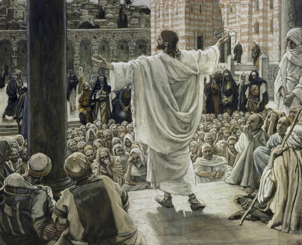 Jerusalem, Jerusalem! James Tissot (1836-1902/French) : Stock Photo