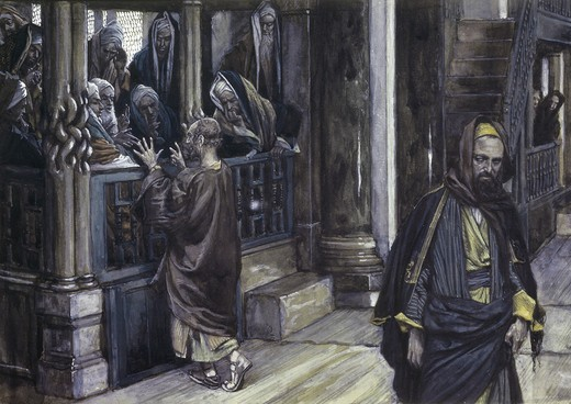 Stock Photo: 999-9216 Judas Goes to the High Priests