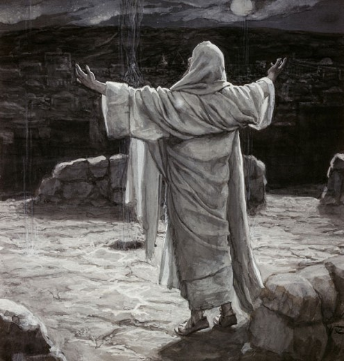 Christ Going to the Mount of Olives at Night