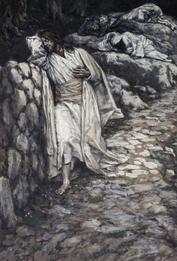 Stock Photo: 999-9230 My Soul is Exceedingly Sorrowful unto Death