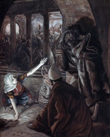 Stock Photo: 999-9249 The Lord Looked Upon Peter