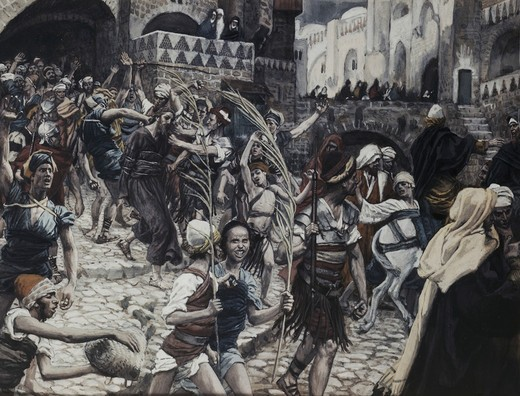 Stock Photo: 999-9258 Jesus Led from Caiaphas