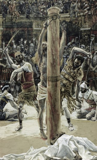 Stock Photo: 999-9264 The Scourging of the Back