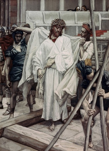 Stock Photo: 999-9277 And They Put His Own Raiment on Him