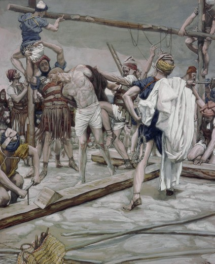Stock Photo: 999-9290 Jesus Stripped of His Raiment