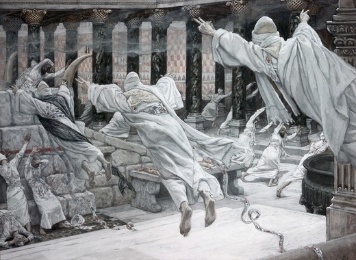 The Dead Appear at the Temple