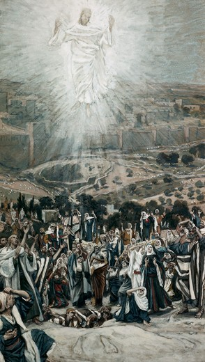 Stock Photo: 999-9348 Ascension from The Mount of Olives