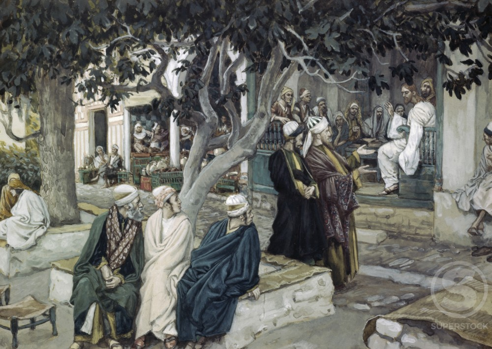 Jesus has Supper with Matthew 