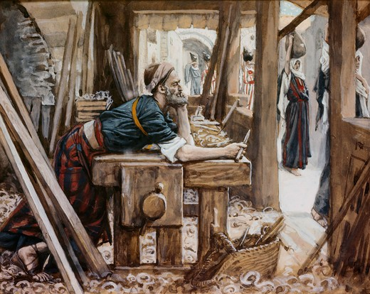 Stock Photo: 999-9920 Anxiety of Joseph