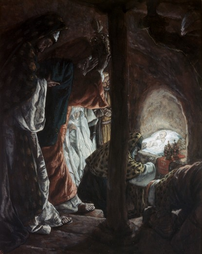 Stock Photo: 999-9932 Adoration of the Wise Men